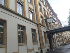 Centre des Terreaux, façade